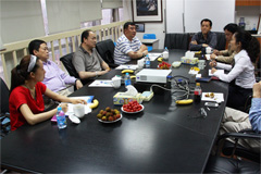 Ningbo customs Association came to Xinhai to investigate and exchange
